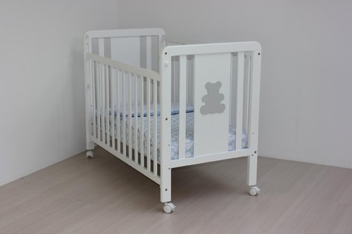 Cuna  60x120 Ref 130P color blanco