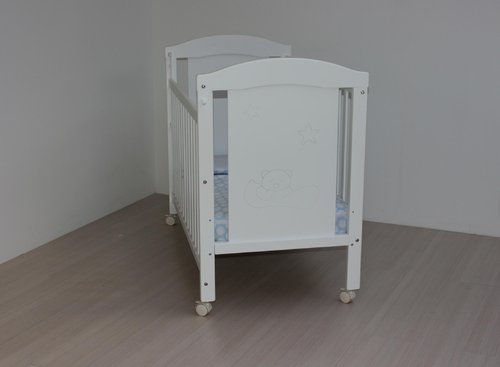 Cuna  60x120 Ref 601P color blanco