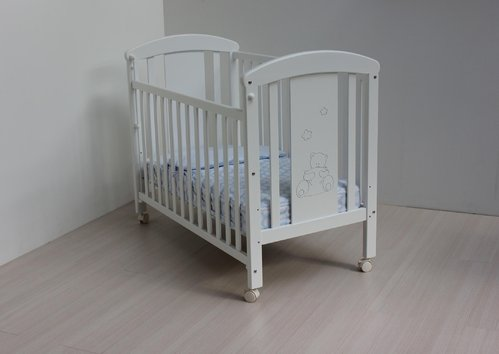 Cuna  60x120 Ref 602 color blanco