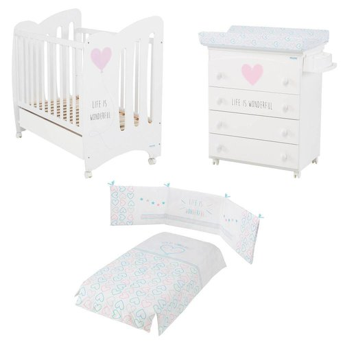 Pack Ahorro Wonderful Blanco/Rosa Micuna + REGALO Lámpara Musical Slumber Buddies