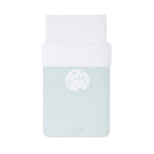 Funda Nórdica Bear Mint Petit Praia