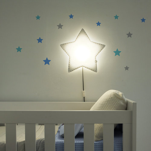 Lámpara de pared Soft Light Estrella
