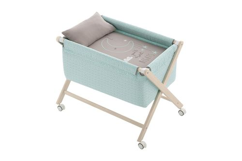 Minicuna tijera natural Sweet Nights Menta Casual Bimbidreams