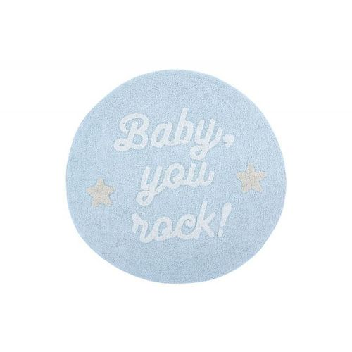 Alfombra Lavable Baby, you rock! ​ Lorena Canals