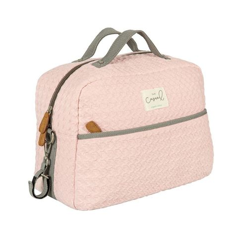 Bolsa Maternal Con Cambiador Dream Salmon BimbiCasual