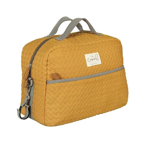 Bolsa Maternal Con Cambiador Dream Ocre BimbiCasual